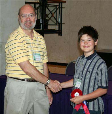 Category H - Juvenile Exhibits by Persons Under 16 Years of Age Caleb Brace